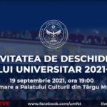 Festivitatea de deschidere a anului universitar 2021 -2022